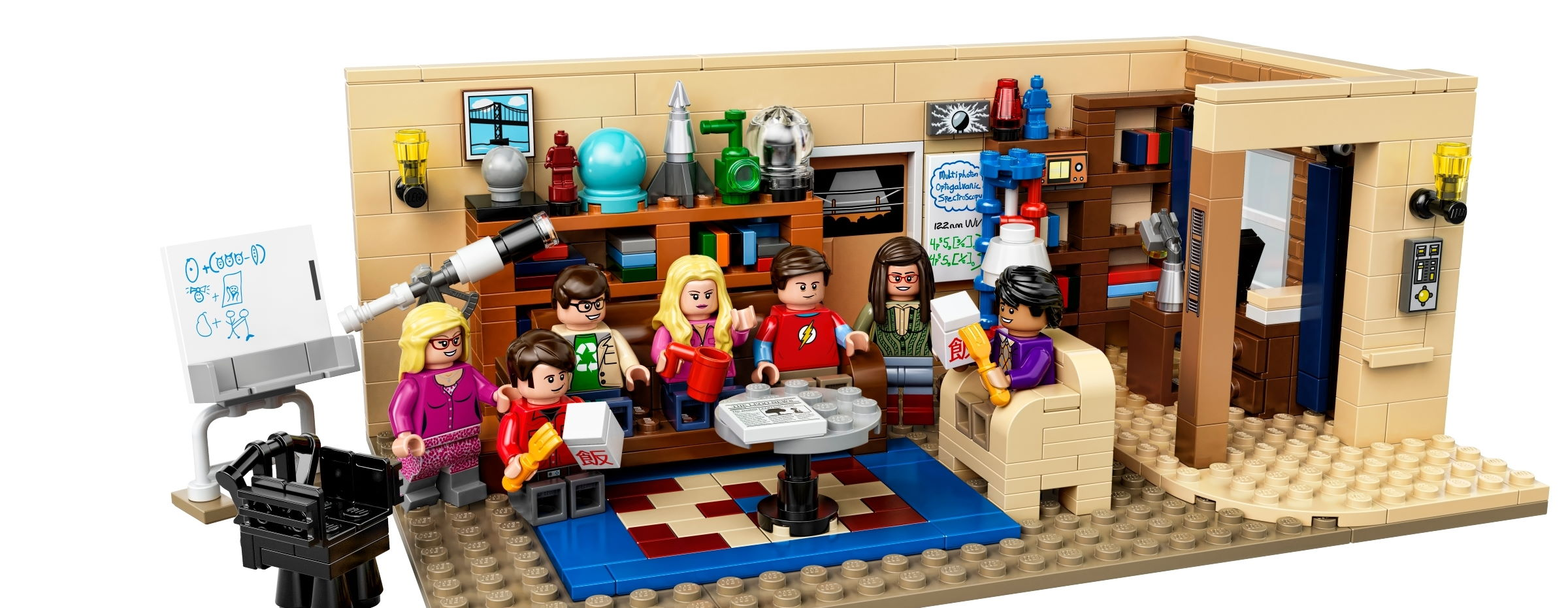 Das Big Bang Theory Set als Lego