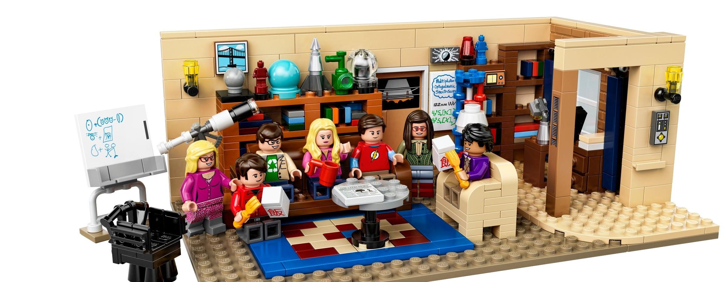 Das Big Bang Theory Set als Lego