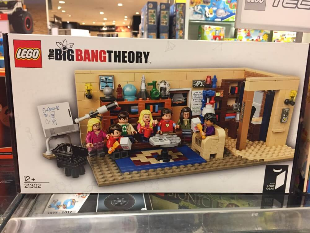 Big Bang Theory Lego Ides Set